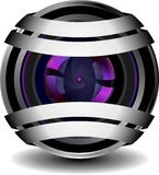 Digital webcam icon Royalty Free Stock Image