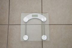 Digital Weight Scale Royalty Free Stock Images