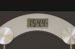 Digital Weight Scale Royalty Free Stock Photos