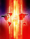 Digital-Welt Lizenzfreies Stockbild