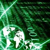 Digital-Welt Lizenzfreie Stockbilder