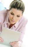 Digital woman Stock Image