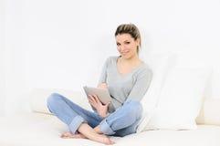 Digital woman Stock Photos