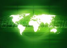 Digital World Royalty Free Stock Image