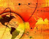 Digital world Royalty Free Stock Photos