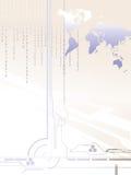 Digital world royalty free illustration