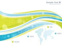 Digital world stock illustration