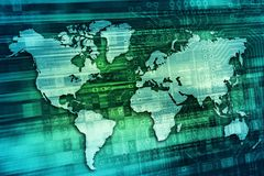 Digital World Concept Stock Image