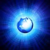 Digital world Royalty Free Stock Photo