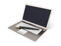 Digital Writer Stock Images