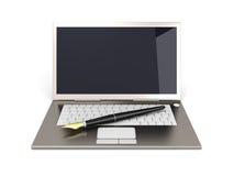 Digital Writer Royalty Free Stock Photo