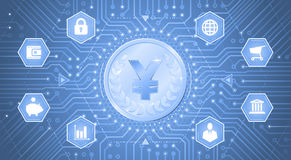 Digital-Yen Stockfotografie