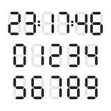 Digital-Zahlsatz stock abbildung