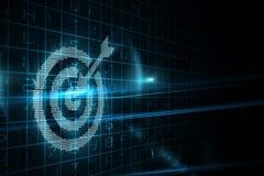 Digital-Ziel Lizenzfreies Stockfoto