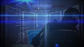 Digital-Zusammensetzung des Hackers