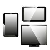 Digitala apparater för symboler Arkivfoton