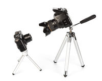 digitala kameror Arkivbilder