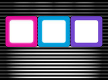 digitala ramar Arkivbild
