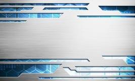Digitalbildtechnologie-Schnittstellenkonzept mit Stromkreis microchi Lizenzfreies Stockfoto