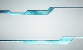 Digitalbildtechnologie-Schnittstellenkonzept mit Stromkreis microchi Lizenzfreies Stockbild