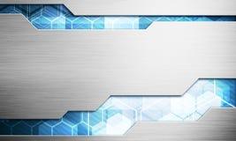 Digitalbildtechnologie-Schnittstellenkonzept mit Stromkreis microchi Stockbilder