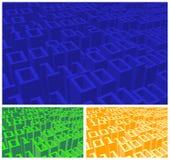 Digitale aantallen vector illustratie