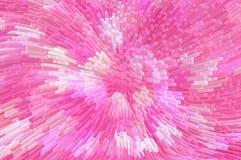 Digitale abstracte 3d drijft achtergrond uit Stock Foto