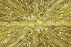 Digitale abstracte 3d piramideachtergrond Stock Afbeeldingen