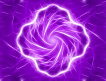 Digitale abstracte fractal geproduceerde computer Stock Foto's