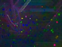 Digitale abstracte fractal, het mooie exclusieve ontwerp van de schoonheids surreal explosie, feestelijke fantasie, royalty-vrije illustratie
