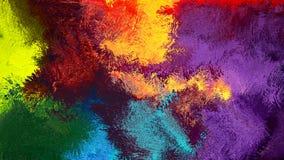 Digitale abstracte Kunst kleurrijke abstracte achtergrond Royalty-vrije Stock Afbeeldingen