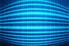 Digitale Abstracte technologieachtergrond, Binaire Achtergrond, futuristische achtergrond, cyberspace Concept Royalty-vrije Stock Fotografie