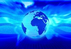 Digitale achtergrond Stock Foto