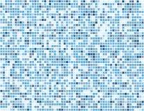 Digitale blauwe vierkanten - vector Royalty-vrije Stock Afbeeldingen