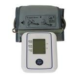 Digitale bloeddrukmonitor Tonometer Stock Afbeeldingen