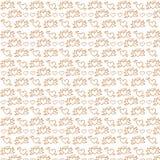 Digitale bruine cijfers en wit kleurendocument Royalty-vrije Stock Fotografie