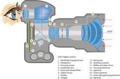 Digitale camera vector illustratie