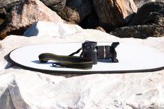 Digitale Camera DSLR royalty-vrije stock afbeelding