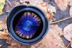 Digitale camera fisheye lens Royalty-vrije Stock Foto's