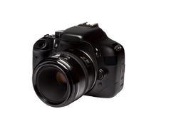 Digitale Camera met lens Stock Foto's