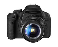 Digitale Camera SLR Royalty-vrije Stock Afbeeldingen