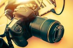 Digitale camerafotografie stock afbeelding