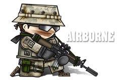 Digitale camouflage royalty-vrije illustratie