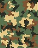 Digitale camouflage Stock Fotografie