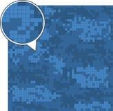 Digitale camouflage naadloze patronen vector illustratie