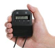 Digitale chronometer royalty-vrije stock afbeelding