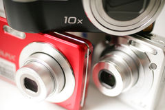 Digitale compact stock fotografie