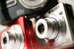 Digitale compact Royalty-vrije Stock Fotografie