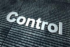 Digitale Controle Royalty-vrije Stock Afbeelding