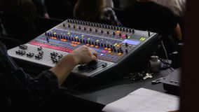 Digitale Correcte Console stock footage